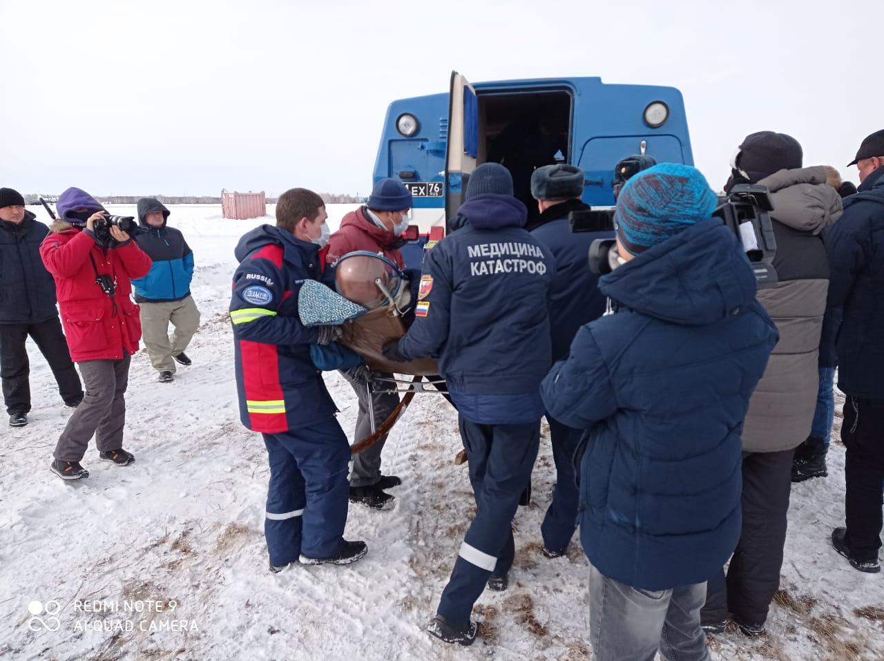 Специалисты ВЦМК «Защита» ФМБА России отработали спасение космонавтов в ходе межведомственных учений